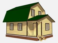 Проект дома Мирослав 8x8