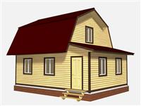 Проект дома Пересвет 6×8