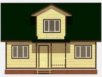 Проект дома Ярополк 9×7