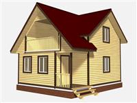 Проект дома Владимир 6×7