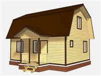 Проект дома Богдан 8x8