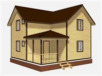 Проект дома Илья 8×6