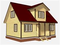 Проект дома Святополк 9×8