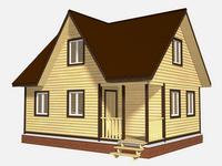 Проект дома Радимир 8×6