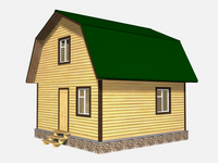 Проект дома Зоран 6x6