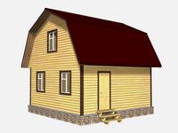 Проект дома Иловай 6×6