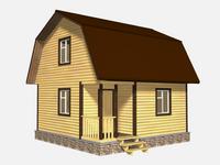 Проект дома Баско 6×6