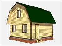 Проект дома Станислав 6×6