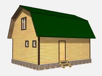 Проект дома Новак 6x8