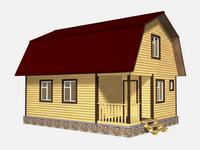 Проект дома Благовест 6x8