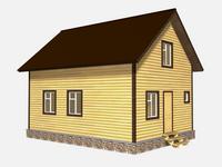 Проект дома Верна 6×8