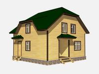 Проект дома Горан 8×8