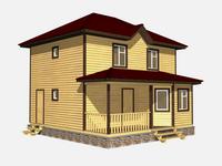 Проект дома Златан 8×8