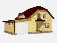 Проект дома Белогор 12×8