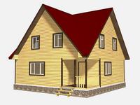 Проект дома Яр 9x9