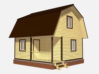 Проект дома Вадим 6×6