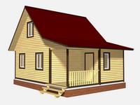 Проект дома Добромил 8×6