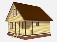 Проект дома Лучезар 8×6