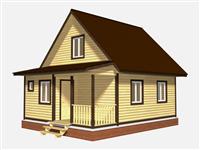Проект дома Ростислав 6×8